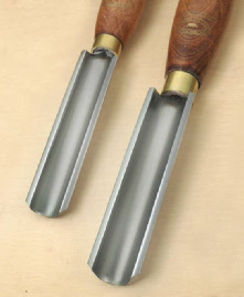 Crown Core Woodturning Chisels