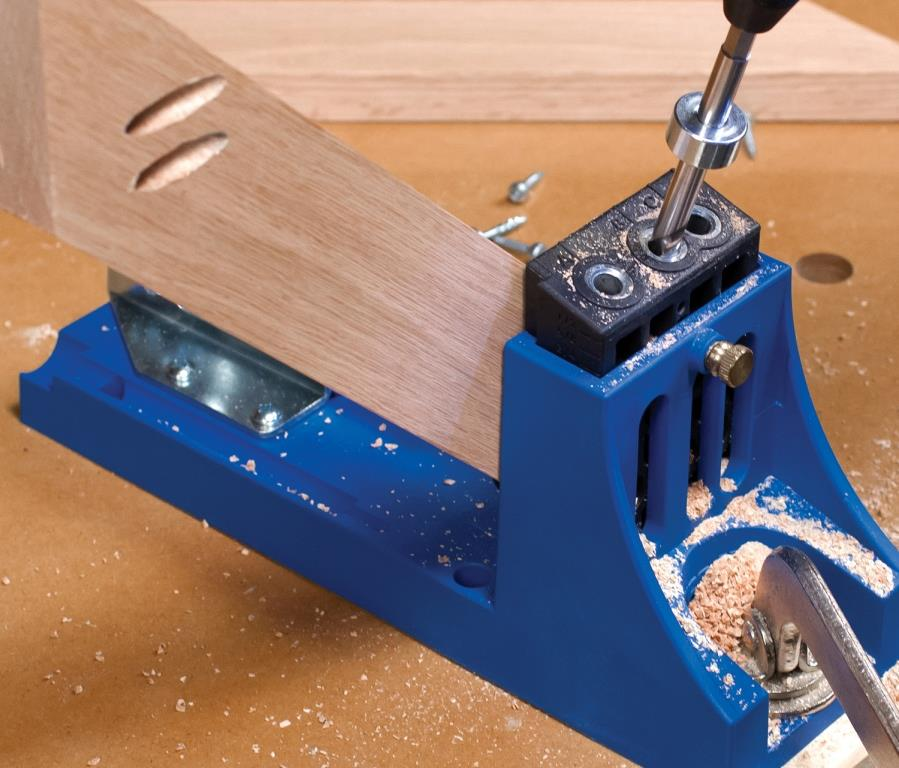 Kreg Micro Pocket Jig Drill System Wood Working Smaller Hole Guide Tool System